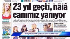 Türkiye Gazete Manşetleri, 3 Temmuz 2016, Pazar