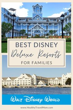 Considering staying at one of Disney's Deluxe Resorts on your Walt Disney World vacation? This article provides a is a detailed rundown of the top Disney Deluxe Resort hotels. #waltdisneyworld