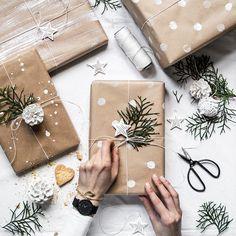 Idee fai da te per i pacchetti di Natale