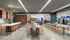 Uber's San Francisco Headquarters by Studio O+A and MASHStudios | Officelovin