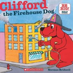 Clifford The Firehouse Dog (Clifford 8x8) by Norman Bridwell, http://www.amazon.com/dp/0545215803/ref=cm_sw_r_pi_dp_Ccp3qb1XJG3JC
