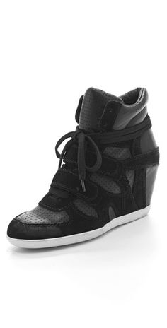 "Ash ""bea"" wedge sneakers - cheaper and easier to get ahold of than the Isabel Marants!"