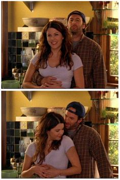 Lauren Graham – Lorelai Gilmore – Gilmore Girls – Luke Danes – Scott Patterson