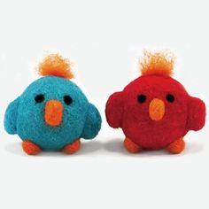 Round & Wooly Birds - Needle Felting Kit