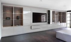 Wyndham Design creates bespoke fitted furniture in London. Wyndham Design specialise in walk in wardrobes, dressing rooms, lounge & bedroom furniture. Bedroom Built Ins, Tv In Bedroom, Bedroom Wardrobe, Trendy Bedroom, Bedroom Decor, Bedroom Ideas, Bed Room, Fitted Bedroom Furniture, Discount Bedroom Furniture