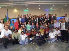 Algunos de los miembros fundadores... de la OPPDH