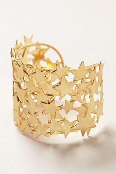 Starlit Brass Cuff #anthropologie