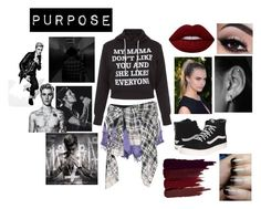 """""""Purpose World Tour 2016: Dancers """" by fashioninmyindustry ❤ liked on Polyvore featuring New Look, Evil Twin, Faith Connexion, Vans, Lime Crime, Serge Lutens and Justin Bieber"""