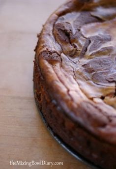 {recipe} Gluten & Dairy Free Brownie Swirl Cheesecake in celebration for the upcoming Mother's Day by @Becky Klope. Make it for the mom in your life!