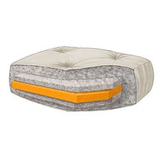 Found it at www.futoncreations.com - ♥ ♥ Wolf - Ultimate Serenity 5'' Full Futon Mattress with Single Foam Core ♥ ♥