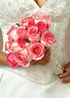 I love this type of rose, white with the pink tips.