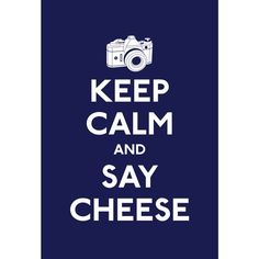 """Keep Calm and Say Cheese--""""STOP COOKING WITH CHEESE!""""--RP BY HAMMERSCHMID"""