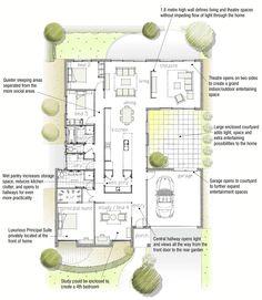 New house on pinterest floor plans ranch house plans for Av jennings home designs