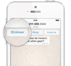 Contact blokkeren op WhatsApp - Wanneer je iemand blokkeert in WhatsApp, ontvang je geen WhatsApp-berichten meer van die persoon.
