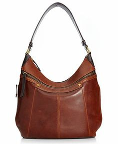Tignanello Handbag, Classic Essentials Leather Hobo