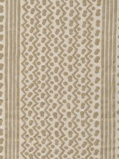 Fortuny Tapa in Old White & Gold with Stripe no. 5485 #marypezzaro #fortuny