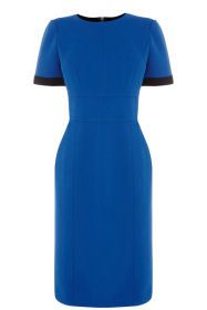Spring Fashion 2015 - Warehouse Bonded Turn Back Pencil Dress