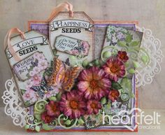Heartfelt Creations | Raspberry Botanical Roses
