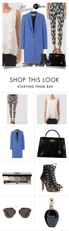 """Look great!"" by sabinakopic ❤ liked on Polyvore featuring Joseph Ribkoff, Mulberry, Hermès, Bobbi Brown Cosmetics, Gianvito Rossi, Christian Dior, Roberto Cavalli, LIST, country and women's clothing"