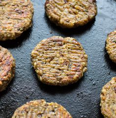 Chickpea Hemp Seed Sausages- healthy meatless sausages that taste just like the real thing! #vegan #glutenfree