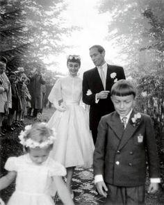 audrey hepburn's wedding