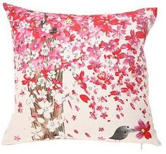 beyond in love with this sweet throw pillow by Masha D'yans.