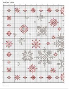 Snowflake Cushion 2/3