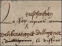 Henry VIII, notorious for his enjoyment of the high life, hated paperwork and had a stamp made of his own signature to avoid having to sign papers himself.  Read more on BBC NEWS | UK | Magazine | Henry VIII - the omnipotent king.