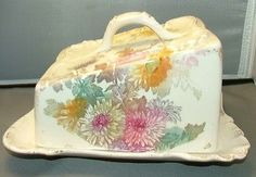 Franz Anton Mehlem Covered Cheese Dish