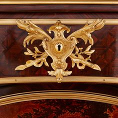 Large antique French ormolu and Vernis Martin vitrine cabinet | Mayfair Gallery