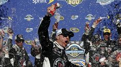 For the fourth straight race at Phoenix, it was Kevin Harvick celebrating in Victory Lane.  3/15/2015