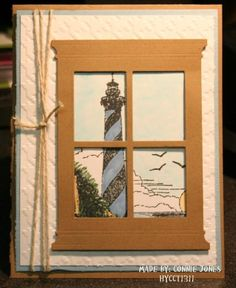 HYCCT1311 Lighthouse by stamp300 - Cards and Paper Crafts at Splitcoaststampers