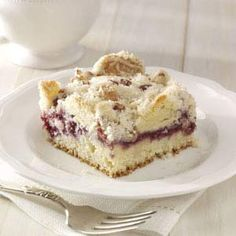 Raspberry Streusel Coffee Cake Recipe