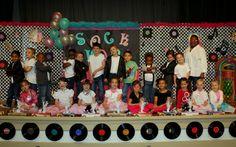 little pumpkin grace: 50th Day of School Kindergarten Sock Hop