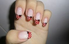 Minnie Mouse Nail Designs Picture nail designs and nail art latest trends nails bow nail Minnie Mouse Nail Designs. Here is Minnie Mouse Nail Designs Picture for you. Bow Nail Art, Cute Nail Art, Cute Nails, My Nails, Hair And Nails, Mickey Nails, Minnie Mouse Nails, Mickey Mouse, Disney Nail Designs
