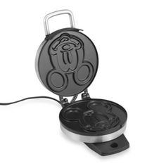 Disney Classic Mickey Mouse Waffle Maker - BedBathandBeyond.com I have this - <3 it!
