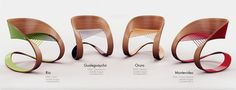 Carnaval Chair by Guido Lanari, via Behance