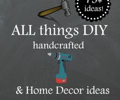 All things handcrafted and diy ideas