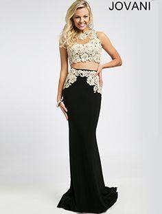 Two-Piece Prom Dress 94306