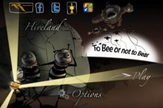 To Bee or not to Bear? - In this app you'll be tasked with helping protect a beehive honeycomb from hungry bears. To make matters more complicated, these bears are jumping in on bungy cords to steal the honey while cute honey bees trying to frantically build their honeycomb and they also have bungy cords. Don't kill them! The game graphics are sharp and the sounds are quite crisp. In addition the provided tutorial helps make starting out the game for the first time a snap. Highly…