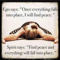 Löytää rauha. Levottomuus rauhoittuisi.