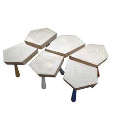 mesa de centro kok conjunto