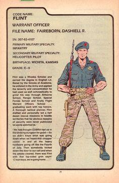 Flint (v1) G.I. Joe Action Figure - YoJoe Archive