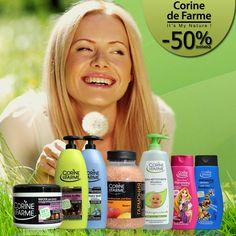 Економте разом з Eshopin.ua! Тотальний розпродаж натуральної косметики для всієї родини від французького бренду Corine de Farme! http://eshoping.ua/uk/total-sale-09.html