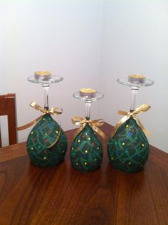 Painting glass candle holders wine bottles Ideas for 2019