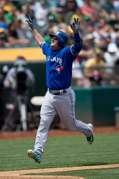 Josh Donaldson - just something about the guy.... maybe it's the funky hair or you know, cause he's MVP ;) haha