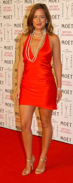 Jade Jagger Photos - The 2005 Moet & Chandon Fashion tribute to designer Matthew Williamson, held at old Billingsgate in London. - The Moet & Chandon fashion tribute Jade Jagger, Moet Chandon, Matthew Williamson, Natural Beauty, Red, Photos, Dresses, Fashion, Pictures