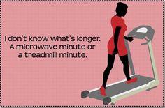 microwave minute vs treadmill