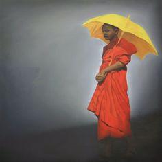 Saffron Monk Nz Art, Show Us, Something Beautiful, Umbrellas, Artwork, Wisdom, Orange, Friends, Shop