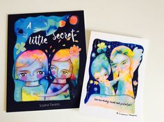 A little secret - children's book and oracle cards